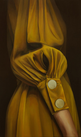 Lia Kazakou, Gold Dress, 2019