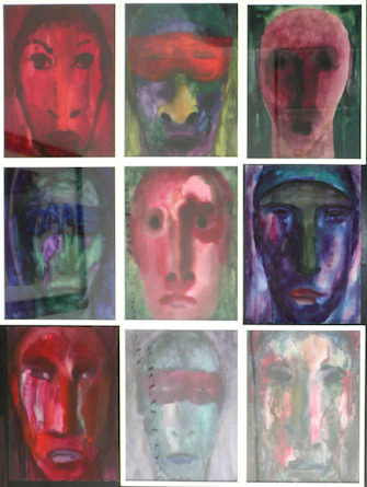 Herbert Beck, Faces of the World (9-teilig), 1995-2009