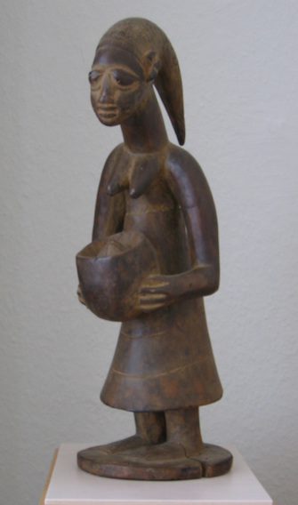 "(West Afrika) Yoruba, ""Female Figure"""
