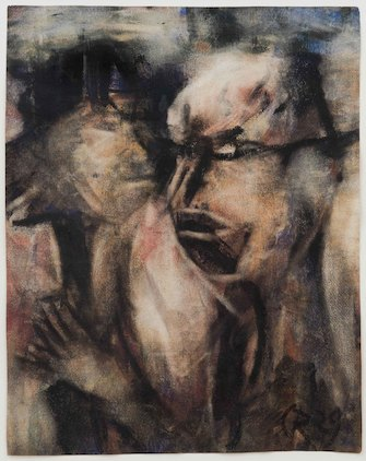 Christian Rohlfs, Zwei Köpfe (Two Heads), 1929