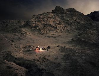 Thomas Wrede, Fred & Red's Cafe (from the series 'Real Landscapes'), 2015, © Thomas Wrede, VG-Bildkunst, Bonn