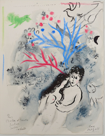 Marc Chagall, Daphnis and Chloé, 1960/61