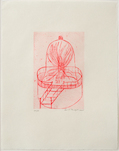 Louise Bourgeois, Hair (Red Bell Jar), 2000, © Beck & Eggeling