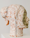 Xavier Mascaró, Ceramic Head, 2011, © Beck & Eggeling
