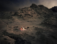 Thomas Wrede, Fred & Red's Cafe (aus der Serie 'Real Landscapes'), 2015, © Thomas Wrede, VG-Bildkunst, Bonn