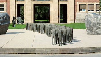 Magdalena Abakanowicz. space to experience, 2008 (c) Beck & Eggeling International Fine Art